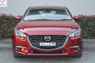 2018 Mazda 3 BN5438 SP25 SKYACTIV-Drive Red 6 Speed Sports Automatic Hatchback.