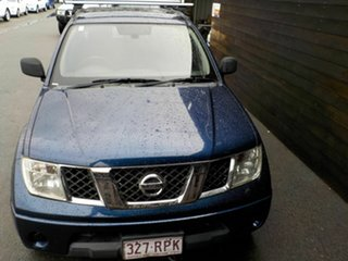 2011 Nissan Navara D40 MY11 RX 4x2 Blue 6 Speed Manual Utility