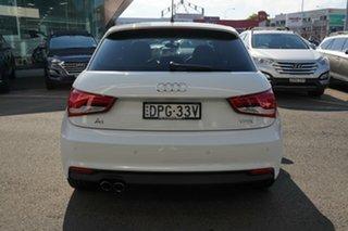 2017 Audi A1 8X MY17 Sportback 1.4 TFSI Sport Glacier White 7 Speed Auto Direct Shift Hatchback