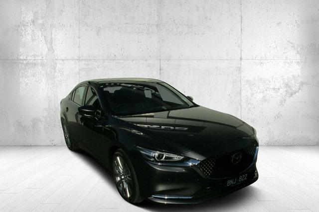 Demo Mazda 6 GL1033 Atenza SKYACTIV-Drive Bendigo, 2021 Mazda 6 GL1033 Atenza SKYACTIV-Drive Grey 6 Speed Sports Automatic Sedan