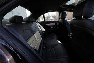 2018 Mercedes-Benz C200 205 MY18 Obsidian Black 9 Speed Automatic G-Tronic Sedan