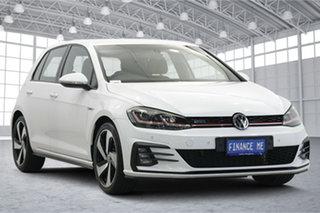 2017 Volkswagen Golf 7.5 MY18 GTI DSG White 6 Speed Sports Automatic Dual Clutch Hatchback.
