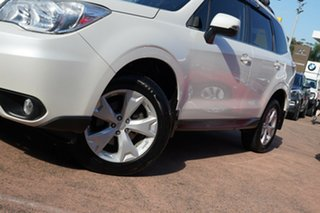 2014 Subaru Forester MY14 2.5I-L White Continuous Variable Wagon.