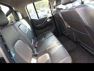 2012 Nissan Navara D40 ST-X 550 (4x4) Black 7 Speed Automatic Dual Cab Utility