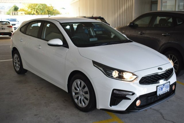 Used Kia Cerato BD MY20 S Ferntree Gully, 2020 Kia Cerato BD MY20 S White 6 Speed Sports Automatic Hatchback