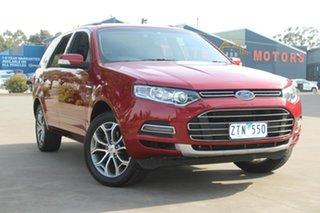 2013 Ford Territory SZ Titanium (4x4) Burgundy 6 Speed Automatic Wagon.