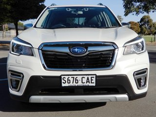 2019 Subaru Forester S5 MY19 2.5i-S CVT AWD White 7 Speed Constant Variable Wagon.