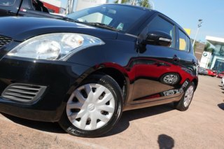 2013 Suzuki Swift FZ GL Black 4 Speed Automatic Hatchback.