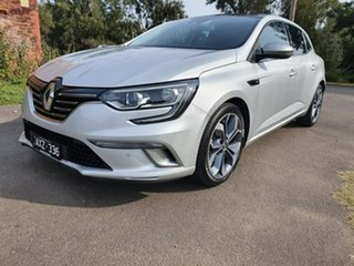 2018 Renault Megane BFB GT-Line Grey Sports Automatic Dual Clutch Hatchback.
