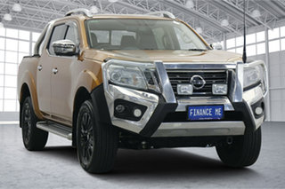 2018 Nissan Navara D23 S3 ST-X Orange 7 Speed Sports Automatic Utility.
