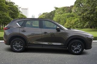2021 Mazda CX-5 KF4WLA Maxx SKYACTIV-Drive i-ACTIV AWD Sport Titanium Flash 6 Speed Sports Automatic.