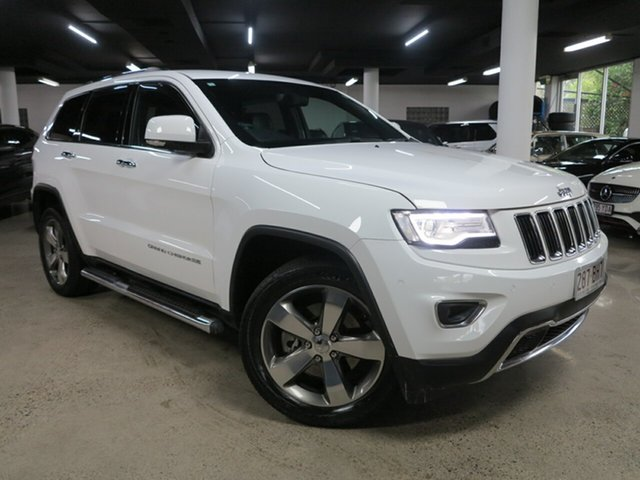 Used Jeep Grand Cherokee WK MY15 Limited Albion, 2016 Jeep Grand Cherokee WK MY15 Limited White 8 Speed Sports Automatic Wagon