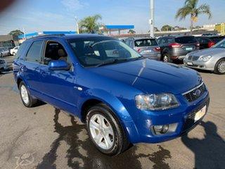 2009 Ford Territory SY MkII TX (4x4) Blue 6 Speed Auto Seq Sportshift Wagon.