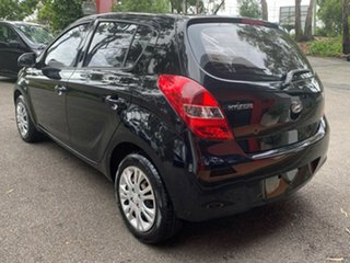 2010 Hyundai i20 PB MY11 Active Black 4 Speed Automatic Hatchback