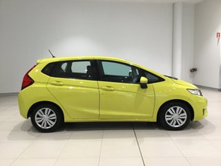 2015 Honda Jazz GF MY15 VTi Attract Yellow 5 Speed Manual Hatchback.
