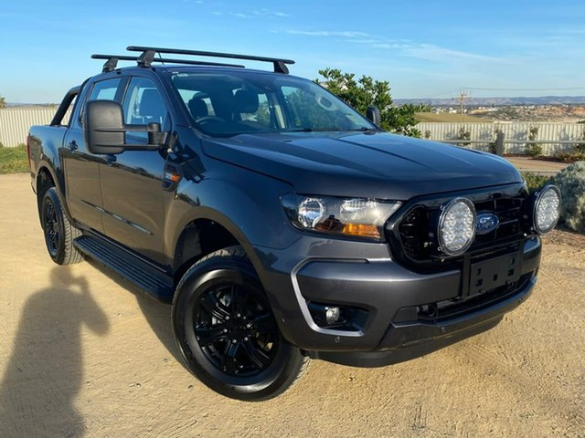 Used Ford Ranger PX MkIII 2019.75MY Sport Christies Beach, 2019 Ford Ranger PX MkIII 2019.75MY Sport Grey 6 Speed Sports Automatic Double Cab Pick Up