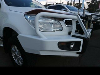 2012 Holden Colorado RG LT (4x4) White 6 Speed Automatic Crew Cab Pickup