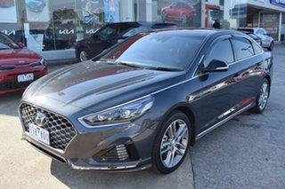 2018 Hyundai Sonata LF4 MY19 Premium Grey 8 Speed Sports Automatic Sedan.