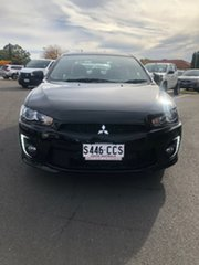2017 Mitsubishi Lancer CF MY17 Black Edition Black 6 Speed Constant Variable Sedan.