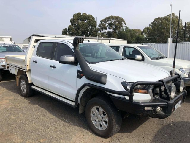 Used Ford Ranger PX MkII XLS Double Cab Epsom, 2017 Ford Ranger PX MkII XLS Double Cab White 6 Speed Manual Utility