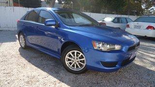 2010 Mitsubishi Lancer CJ MY10 Activ Sportback Blue 6 Speed Constant Variable Hatchback.