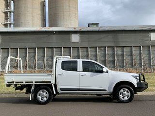 2018 Holden Colorado RG MY19 LS (4x4) (5Yr) White 6 Speed Automatic Cab Chassis