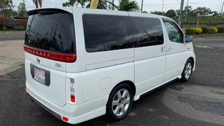 2003 Nissan Elgrand E50 White 4 Speed Automatic Wagon