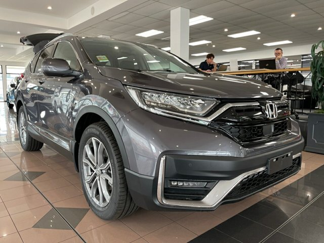 New Honda CR-V RW MY21 VTi 4WD LX AWD Mount Gravatt, 2021 Honda CR-V RW MY21 VTi 4WD LX AWD Modern Steel 1 Speed Constant Variable Wagon