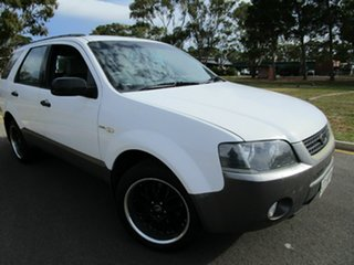 2008 Ford Territory SY TS (4x4) White 6 Speed Auto Seq Sportshift Wagon.