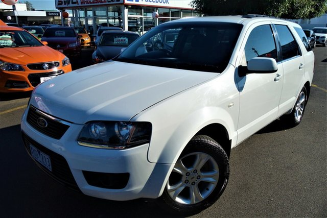 Used Ford Territory SY MkII TS Seaford, 2010 Ford Territory SY MkII TS White 4 Speed Sports Automatic Wagon