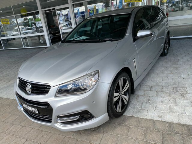 Used Holden Commodore Taree, 2014 Holden Commodore SV6 - Storm Silver Sports Automatic Wagon
