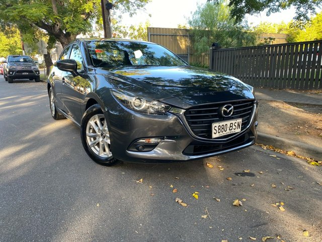 Pre-Owned Mazda 3 BN5276 Maxx SKYACTIV-MT Hawthorn, 2017 Mazda 3 BN5276 Maxx SKYACTIV-MT Grey 6 Speed Manual Sedan