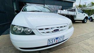 2004 Ford Falcon BA Mk II RTV Ute Super Cab 4 Speed Automatic Utility.