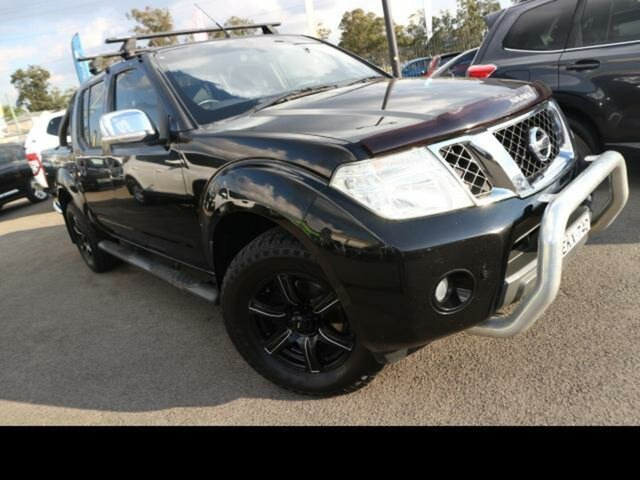 Used Nissan Navara D40 ST-X 550 (4x4) Kingswood, 2012 Nissan Navara D40 ST-X 550 (4x4) Black 7 Speed Automatic Dual Cab Utility