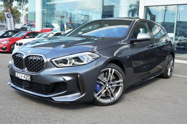 Used BMW M135i F40 xDrive Brookvale, 2020 BMW M135i F40 xDrive Mineral Grey 8 Speed Auto Sports Mode Hatchback