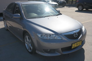 2003 Mazda 6 GG1031 Luxury Sports Grey 4 Speed Sports Automatic Hatchback.