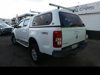 2012 Holden Colorado RG LT (4x4) White 6 Speed Automatic Crew Cab Pickup.
