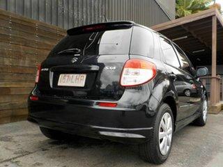 2008 Suzuki SX4 GYA GLX Black 4 Speed Automatic Hatchback