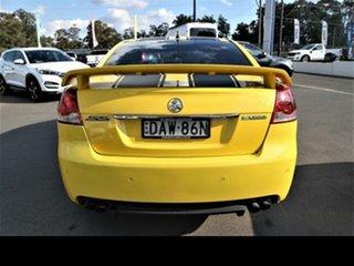 2011 Holden Commodore VE II MY12 SS Yellow 6 Speed Manual Sedan