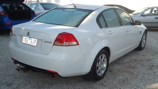 2011 Holden Commodore VE II Omega White 6 Speed Sports Automatic Sedan