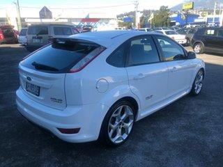 2010 Ford Focus LV XR5 Turbo White 6 Speed Manual Hatchback.