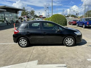 2011 Toyota Corolla ZRE152R MY11 Ascent Black 4 Speed Automatic Hatchback.