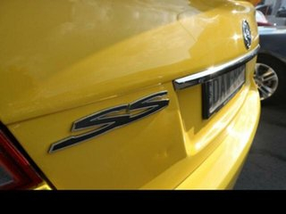 2011 Holden Commodore VE II MY12 SS Yellow 6 Speed Manual Sedan
