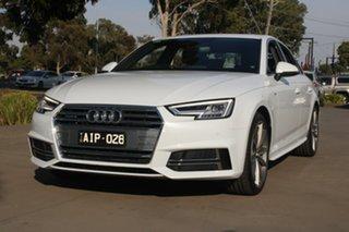 2016 Audi A4 F4 (B9) 2.0 TFSI S Tronic Sport 7 Speed Auto Dual Clutch Sedan