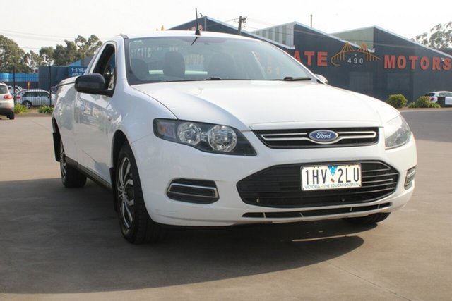 Used Ford Falcon FG MK2 (LPi) West Footscray, 2011 Ford Falcon FG MK2 (LPi) 6 Speed Automatic Utility