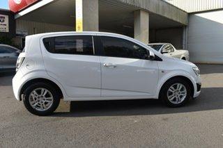 2012 Holden Barina TM White 6 Speed Automatic Hatchback.