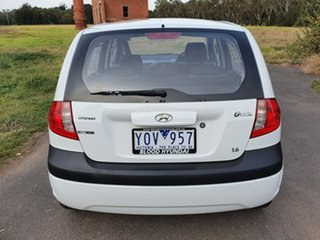 2008 Hyundai Getz TB SX White Manual Hatchback