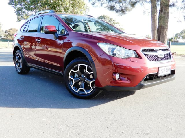 Used Subaru XV G4X MY13 2.0i-S Lineartronic AWD Glenelg, 2013 Subaru XV G4X MY13 2.0i-S Lineartronic AWD Venetian Red 6 Speed Constant Variable Wagon