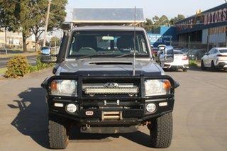 2011 Toyota Landcruiser VDJ76R 09 Upgrade GXL (4x4) 5 Speed Manual Wagon.
