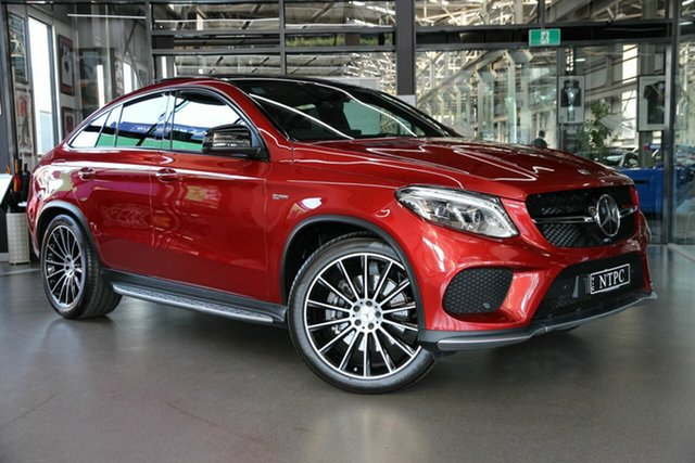 Used Mercedes-Benz GLE-Class C292 MY809 GLE43 AMG Coupe 9G-Tronic 4MATIC North Melbourne, 2019 Mercedes-Benz GLE-Class C292 MY809 GLE43 AMG Coupe 9G-Tronic 4MATIC Red 9 Speed